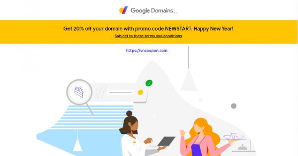 Google域名–注册新域名可获得20%的优惠
