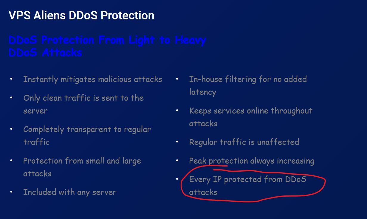 VPS Aliens:/月/4核/8GB内存/200GB SSD空间/6TB流量/10Gbps端口/DDOS/KVM/纽约